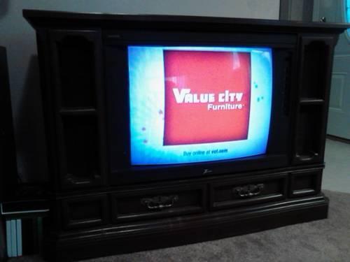 zenith floor model tv