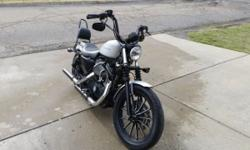 I'm selling a 2009 Harley Davidson Sportster with several upgrades. Motorcycle has a denim grey finish with blacked out engine components which makes it very easy to clean. It has 10,195 miles on it a