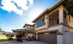 Breathtaking views, very private and an extra large lot located at Le'Olani is an absolute ''must see''! Enter through the grand entryway with soaring ceiling, you will be amazed by this beautifully u