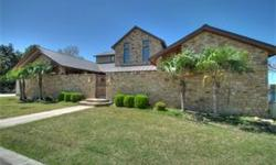 Breathtaking views on Lake LBJ await you in this stunning home. Over 150 of open water! After entering a private courtyard featuring foutains and ample entertaining area, you will be amazed of the pan