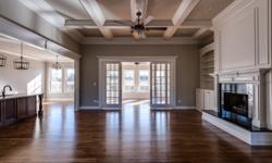 This sensational split bedroom ranch design by Steven Poor will be complete 2-15-16. This gorgeous home sits on a 1 acre cul-de-sac lot and features 10' and 12' ceilings, random width hardwood floors,