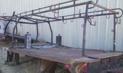 10 Ft Flatbed with lumber rack please call for more info. Wade 775-303-3332 Location: Reno/Carson