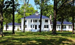 "Dream about living in an 1800s Southern Plantation home straight out of ""Gone With the Wind?"" This newly built home boasts Greek Revival/Antebellum Architecture with imposing columns that reminisce of"