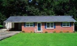 Forest Acres Elementary and under $100k! Cute 3br, 1 ½ bath brick ranch on level lot in Kingsberry Park. White kitchen with butcher block countertops, dishwasher, fridge, disposal and smooth top stove. Formal dining room. Gleaming hardwoods in