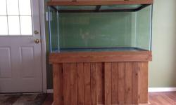 Aga 125 gallon tank dual overflows stand and sump tank for Split fish tank