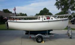 Please call owner Dennis at 928-846-1548 or 918-516-2257. Boat is in Owasso, Oklahoma. Trailer with folding tongue, new tires and 2016 tags. Anchor and line. Sleeps 2. New Cushions. Safety Rails. Wood