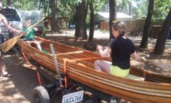 Please call owner Bill at 530-877-3778. Canoe is in Paradsie, California. Cedar Strip Canoe  Gilpatrick design. LOA 17/0 + -. Beam 36. Depth 13. Rocker 2. Beam Rocker 1  . Tumbelhome 2. Weight 74 lbs.