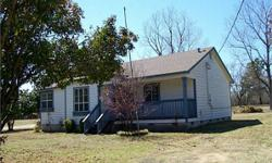 3/2 Wood frame home. New paint, new flooring and very close to Lake Crockett and Coffee Mill Lakes. Walking distance to Caddo National Grassland.