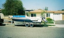 Please call owner Richard at 760-207-5840. Boat is in Oceanside, California. ONLY SERIOUS.20' Center Console,115 Yamaha 2 stroke,Built in 22 gal. Bait Tank and Tackle Box,75 gallon gas tank.1979 Ameri