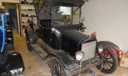 1917 Ford Model T (OR) - $10,000 2 door Black exterior with Black vinyl interior Manual transmission 4 cylinder engine Well maintained Garage kept No Rust New tires, seat and top This vehicle is located in Sweet Home OR 97386 Please call Frank @  to see
