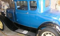 This is a nice classic 1930 Ford Model A with Rumble Seat, it is powered by a Straight 4 engine and a manual transmission. This vehicle has been restored and is fully operational with an original driv