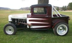 1932 Ford Pick Up Street Rod. Daily Driver. 1969 289 4 Speed. 9 inch Rear End. Has been chopped and channeled. Needs someone with smaller stature. Located about an hour and a half West of Madison, WI.