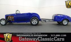 Stock#523NDY This vehicle is located in Carmel, IN. 14 miles north of downtown Indianapolis, IN 317-688-1100 1932 Ford Roadster ENGINE: 1963 Chevrolet 409 V8 BODY: Convertible TRANSMISSION: 4-Speed Au