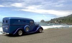 1936 Ford Street Rod for sale (WA) - $55,500 '36 Ford Panel Street Rod 72,000 original miles. 3 Doors. RWD. Clean Title. Custom Blue exterior paint With matching Custom Blue & wood grain floor in back
