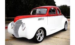 1939 Ford Coupe for sale (OK) - $38,500 '39 Ford Street Rod Coupe 5,000 Rebuilt Miles. Custom exterior paint; Pearl White & Copper Metallic Red Custom matching Leather interior. Turbo 350 Transmission