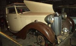 1939 MG VA Ticford Convertible ..Extremely RARE Car ..Super Straight Body ..Super Rock Solid Body ..Tan Paint ..Dark Brown Fenders ..Tan Soft Top ..Has Trunk ..Asking $29,500 ..Make Me An Offer ..e-Ma