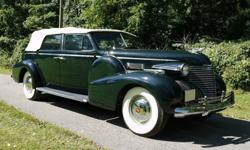 1940 Cadillac Fleetwood Series 75 Convertible Sedan Restored-For a faster respond please reply with your phone number! -Year : 1940-Make : Cadillac-Model : Fleetwood-Trim : Convertible-Engine : 346ci-