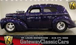 Vehicle is located in O'Fallon, IL - just 15 miles east of downtown St. Louis, MO  1940 Willys Coupe ENGINE: V-8 Big Block w/ Supercharger TRANSMISSION: 3-Speed Automatic MILEAGE: 6,679 BO