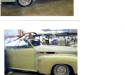 1941 Cadillac convertible Phaeton sedan only 397 built a very rare specimen, best of everything. Retro Rod restoration project, over $165,000 invested with receipts to prove it. 513ci big block caddy,