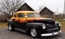 1946 Ford Coupe For Sale in Gadineau, Quebec Canada Look out street rod lovers! This 1946 Ford Coupe is ready to incite a long lasting love affair. This amazing two-door classic has undergone a comple