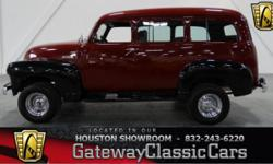 Stock #234HOU Up for sale in the Houston showroom is one gorgeous Suburban, the 1948 Chevrolet Suburban. The Chevrolet Suburban is a full-size, extended-length sport utility vehicle from Chevrolet. It