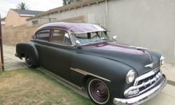 1951 Chevrolet Fleetline Classic. $9,750.00 OBO. Very rare, hard to find with three on the tree. 235 inline 6 cylinder that fires right up. Straight body with Interior and headliner in very good condi
