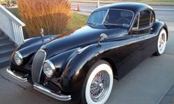 1953 Jaguar XK 120 coupe for sale (SC) $75,000 This jaguar was restored by professionals. Older Restoration. Rarely driven. Built to be reliable and dependable. All mechanical drive train parts availa