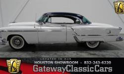 Stock #221HOU Up for sale in the Houston showroom is one gorgeous Olds, the 1953 Oldsmobile Ninety Eight Deluxe Coupe. The Oldsmobile 98 often spelled Ninety-Eight after 1961, is the full-size flagshi