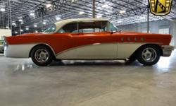 Stock #93-TPA 1955 Buick Riviera Roadmaster 813-645-6200 $19,995 Engine: 455 C.I.D. V8 Transmission: 3 Speed Automatic Mileage: 3500 (unknown) Body Style: 2 Door Exterior Color: Peach/White Interior C