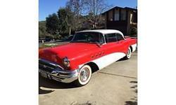 I have this extremely cool and original 55 Buick in two-tone Red and White with Red-Black interior everything is original or restored to original and not chopped or changed etc.. This Buick is A real