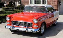 1955 Chevrolet Bel Air/150/210-For a faster respond please reply with your phone number!Mechanics350ci V8 Engine Saginaw 4-Speed Manual TransmissionOpen Rear End with 2.73:1 Gear Ratio Vintage A/C and
