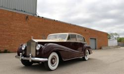 1955 ROLLS-ROYCESILVER WRAITH Long Wheel BaseWhile most of the top names in coach building established themselves in the days of horse-drawn carriages, Park Ward was founded in 1919 to produce high-cl