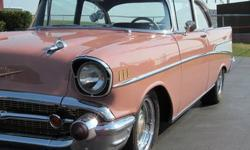Condition: Used Drivetrain: 2 whl Vehicle title: Clear DESCRIPTION: This beautiful 57 2 dr sedan is a true Bel Air. The car has had a complete, frame off, rotisserie restoration. It has always been ca