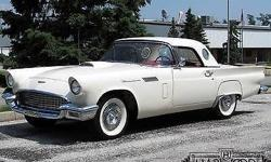 Condition: Used. Outside color: Colonial White. Interior color: Red. Transmission: Automatic. Fule type: GAS. Engine: 8. Drivetrain: U/K. Car title: Clear. Physique: Convertible. Standard devices: Pow