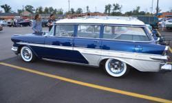 1957 Pontiac Star Chief Safari Transcontinental, orig # Matching Rebuilt 347 V-8 w/(X) Heads, Rebuilt AT, Rebuilt Front Susp. PS, PB, all New Brakes, Rebuilt Rear End 3:23 All New Bearings & Sea