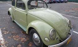 This is a Rust Free Classic Oval Window. It has been well treated. It runs and drives well. If you are looking for a Bug with that 50's Look, this is your chance. Rebuilt 12 volt 1600cc Dual port. Man