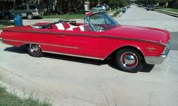 1960 FORD SUNLINER 2 DOOR CONVERTIBLE  -THIS IS A FRAME / CHASSIS OFF RESTORATION -V8 352 ENGINE 4 BARRELS WITH AUTOMATIC TRANSMISSION -GREAT AND GOOD LOOKING CONVERTIBLE CAR -FUN TO DRIVE WITH THE TO