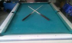 I am trying to sell my 1960's Brunswick Celebrity Pool Table. I am asking $350. With it likewise comes a pool stick rack and an entire set of additional balls. Comes with 6 swimming pool sticks. It is