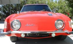 Viper red 1962 1/2 studebaker avanti with 11,400 miles on motor, $40,000 usa cash only 42nd car made out of 59 . 1993 LT1 corvette motor... k&N cold air induction... new flex-a-lite electric fan...hoo