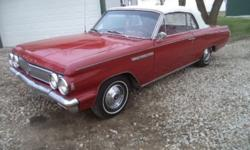 1963 Buick Skylark Convertible ..Near Show Room Condition ..30,000 Original Miles ..Red Paint ..White Soft Top ..Red Interior ..Body Super Straight ..Boy Rock Solid ..Very Good Running Car ..Very Nice