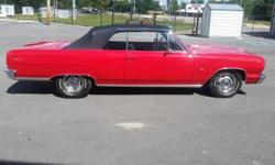 1964 Chevy Malibu for sale (AL) - $27,500 '64 Chevy Malibu Convertible Full Frame off Restoration 10,000 Miles. 2 Doors. Clean title. Red exterior paint with Black top All New Black vinyl interior. Po