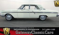 Stock#462NDY This vehicle is located in Carmel, IN. 14 miles north of downtown Indianapolis, IN 317-688-1100 1964 Ford Fairlane 500 ENGINE: 289 CID V8 BODY: 4DR TRANSMISSION: 3-Spd Auto EXTERIOR COLOR