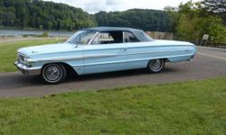 1964 ford galaxie 500 XL convertible 390 v8 4 barrel,4 speed with am-fm radio Summer coming and I have enjoyed this car for the past 18 years and it's time to down size so here it is for sale