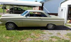 1965 Ford Falcon for sale (NC) - $34,500. '65 Ford Falcon Futura. 2 door hardtop. Entirely restored. Honey Gold outside with Black Cloth interior. One owner-purchased new in 1965. Still has the initia