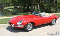 """Welcome to Crave Luxury Auto, one of the nation""""s premier marketers of high-line and luxury automobile dealers. The winner of this auction will have the opportunity to own this beautiful 1965 Jaguar E"""