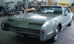 1966 Oldsmobile Toronado ..1st Front Wheel Drive Car ..1st Place All Original Class ..50,832 Original Miles ..Dash Looks Very Good ..Push Button Radio ..AC ..425/385hp Engine ..475 16-ft-Torque ..10.5