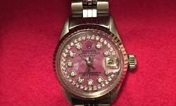 Beautiful Vintage timepiece from the 60s. It's great for collectors of Swiss and/or a gift for a little lady between the ages of 10-15 yrs. Older women would love this too. It's petite and beautiful a