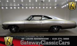 #6731 $27,995 Vehicle is located in O'Fallon, IL - just 15 miles east of downtown St. Louis, MO 618-271-3000 1967 Chevrolet Impala ENGINE: 350 CID V8 TRANSMISSION: 2 Speed Automatic MILEAGE: 20,880 BO