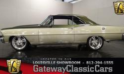 Stock#993LOU Vehicle is located in Memphis, IN. 16 miles north of downtown Louisville, Off I-65. (812) 294-1555 - (812) 294-1055 1967 Chevrolet Nova ENGINE:355 SBC BODY: 2DR TRANSMISSION: 700R4 EXTERI