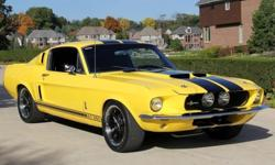 1967 Ford MustangFastback GT350 Tribute History The Ford Mustang isan car produced by the Ford Motor Company. It was at first based onthe second generation North American Ford Falcon, a compact automo